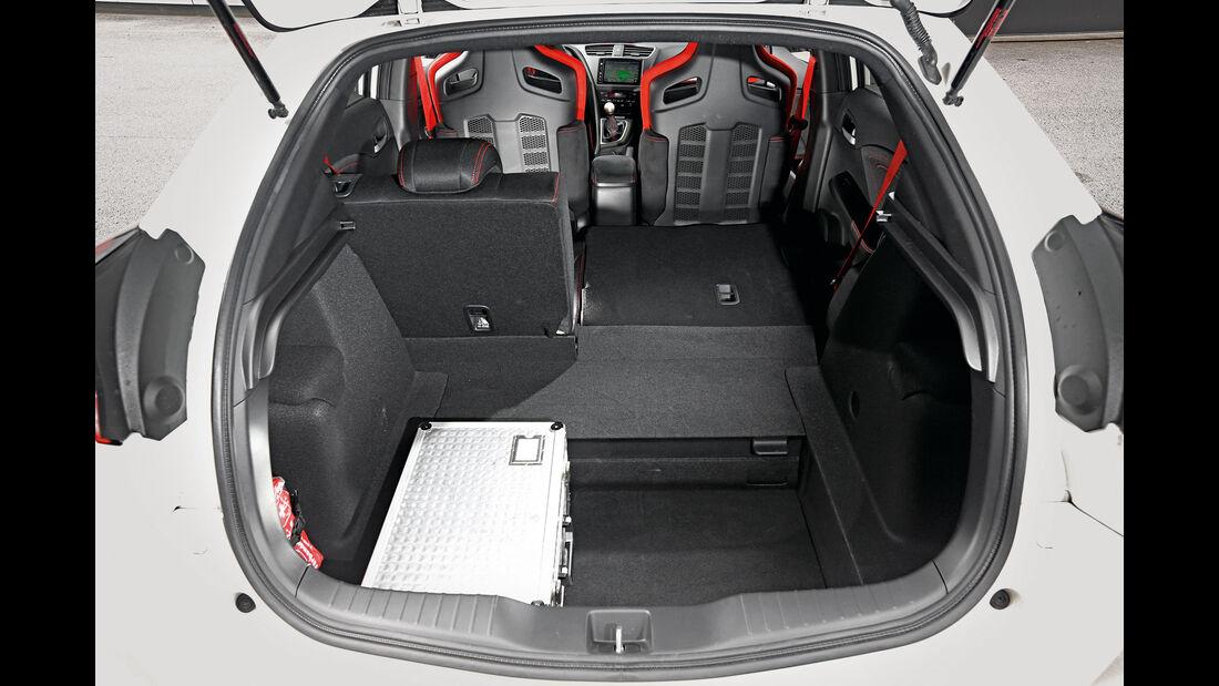 Honda Civic Type R, Kofferraum