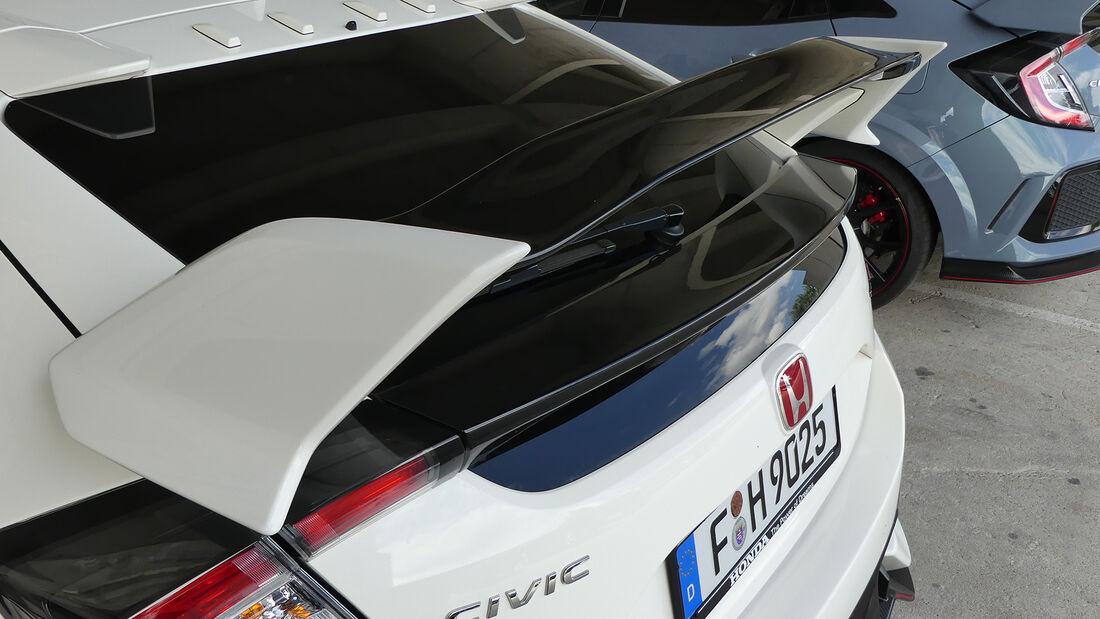 Honda Civic Type R - Max Verstappen - Formel 1 - Fahrerautos - GP Ungarn 2021