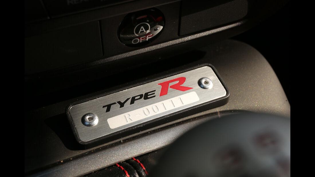 Honda Civic Type R, Plakette, Typenbezeichnung