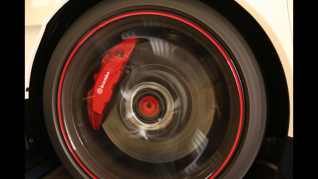 Honda Civic Type R, Rad, Bremse