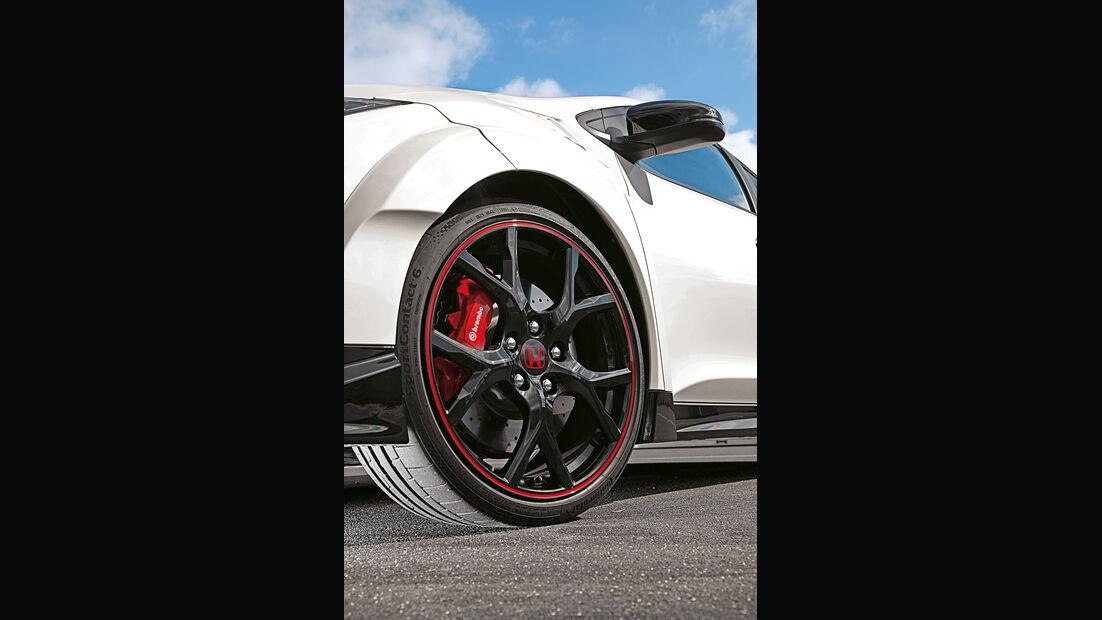 Honda Civic Type R, Rad, Felge