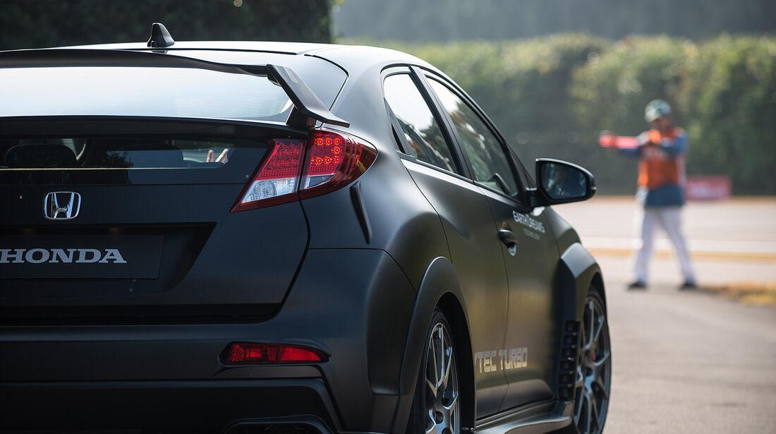 Honda Civic Type R, Rücklicht, Heckspoiler