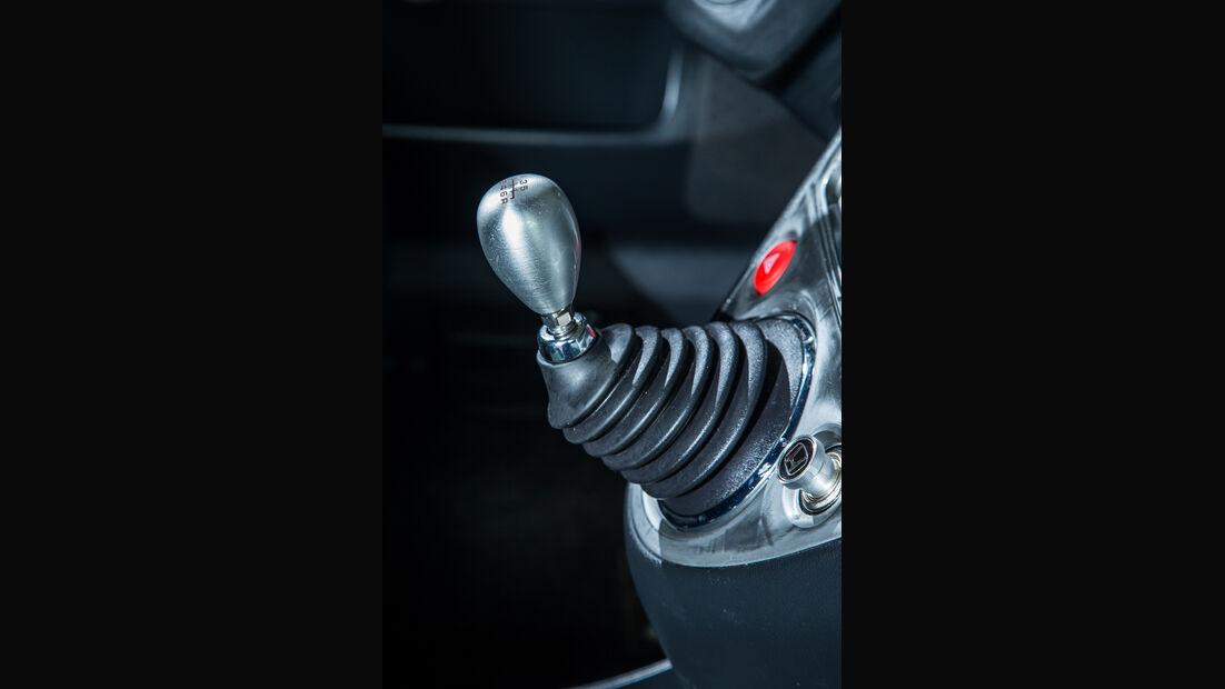 Honda Civic Type R, Schalthebel