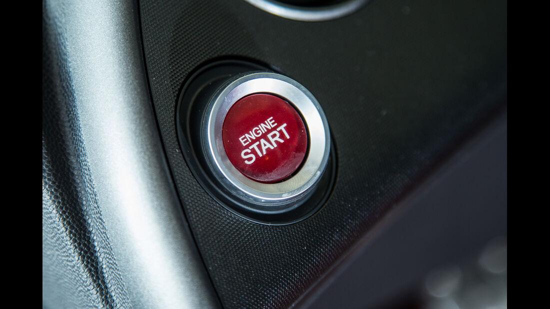 Honda Civic Type R, Startknopf