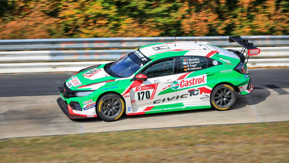 Honda Civic Type R - Startnummer #170 - Klasse: TCR - 24h-Rennen - Nürburgring - Nordschleife - 24. bis 27. September 2020