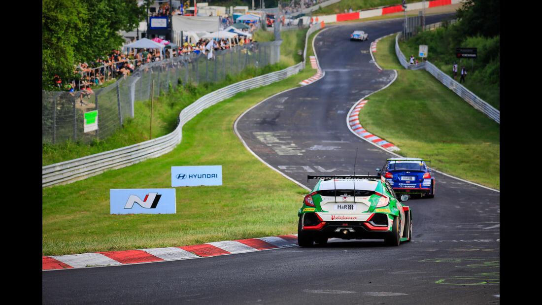 Honda Civic Type R - Startnummer #172 - 24h Rennen Nürburgring - 22. Juni 2019