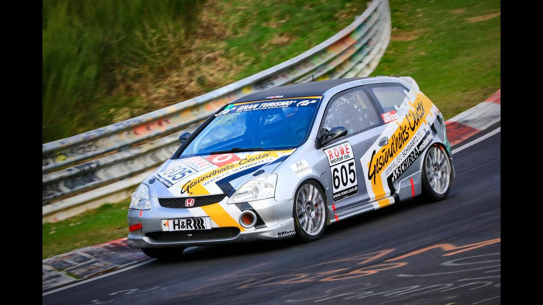 Honda Civic Type R - Startnummer #605 - H2 - VLN 2019 - Langstreckenmeisterschaft - Nürburgring - Nordschleife