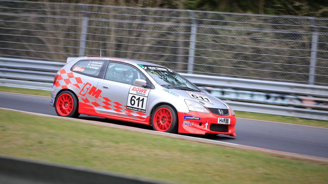 Honda Civic Type R - Startnummer #611 - H2 - NLS 2021 - Langstreckenmeisterschaft - Nürburgring - Nordschleife