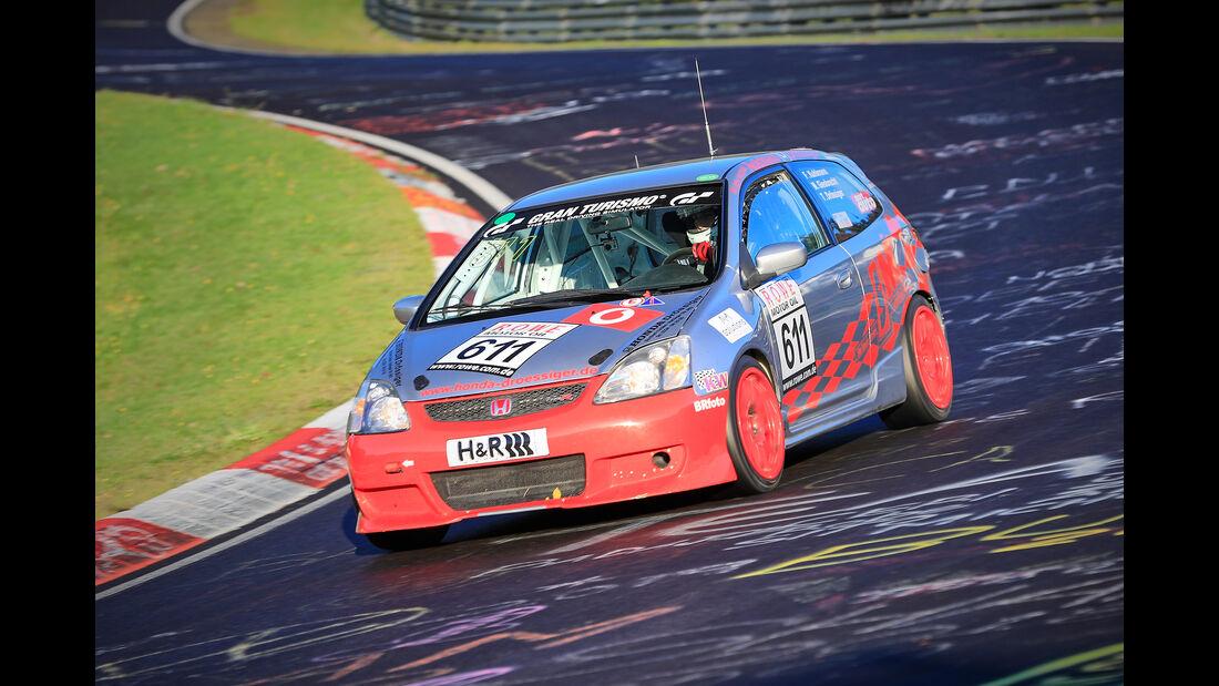 Honda Civic Type R - Startnummer #611 - H2 - VLN 2019 - Langstreckenmeisterschaft - Nürburgring - Nordschleife