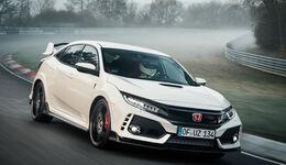 Honda Civic Typer R Nordschleifenrekord Nürburgring