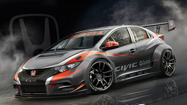 Honda Civic WTCC Rennwagen 2014
