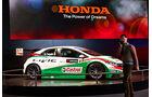 Honda Civic WTCC Rennwagen, Genfer Autosalon, Messe 2014
