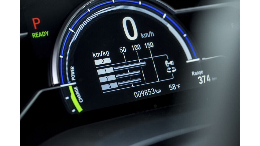 Honda Clarity Fuel Cell, Interieur