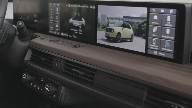 Honda E Cockpit