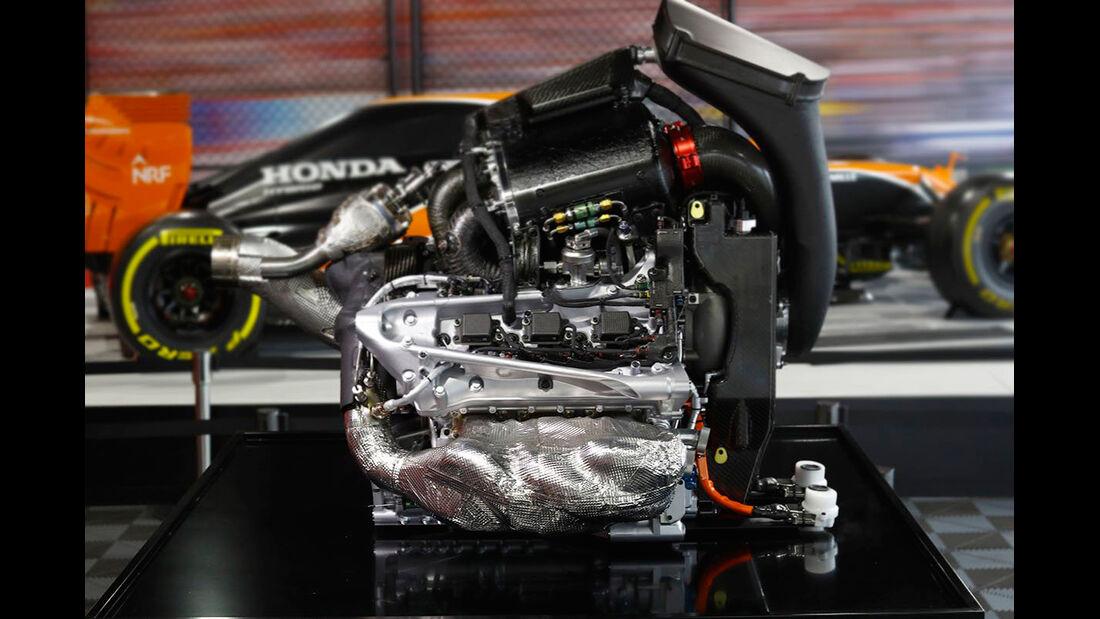 Honda F1-Motor 2017