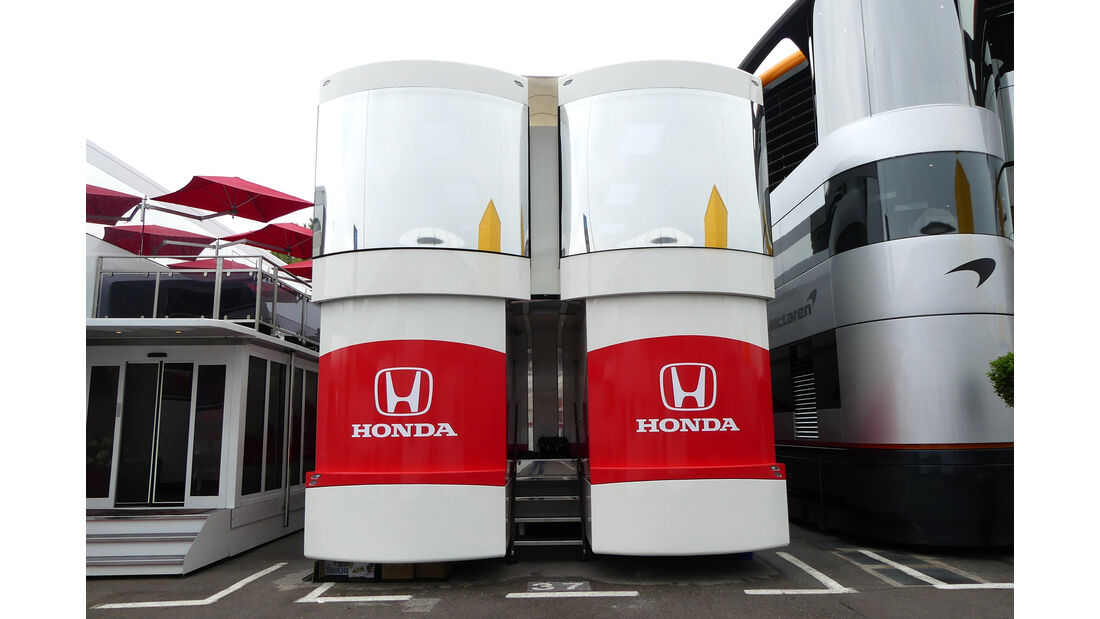 Honda - F1-Motorhomes - GP Spanien 2018