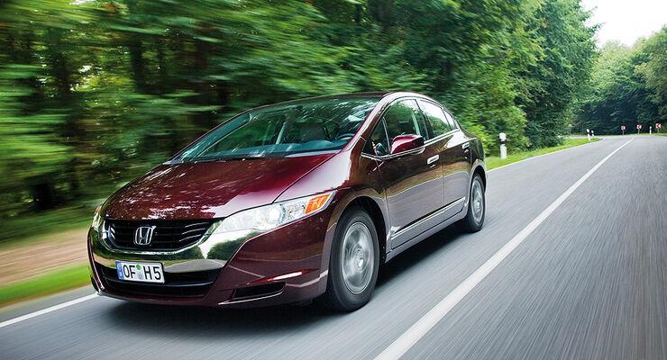 Honda FXC Clarity, Brennstoffzellenauto mit E-Motor