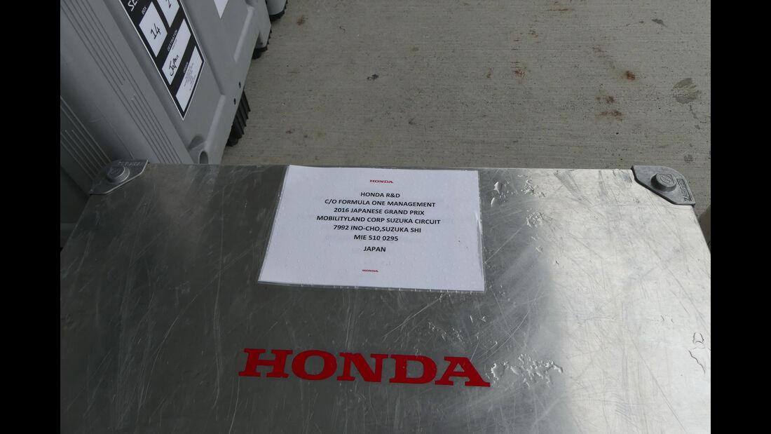 Honda - Formel 1 - GP Japan - Suzuka - Mittwoch - 5.10.2016