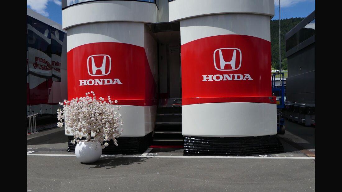 Honda - Formel 1 - GP Österreich - 27. Juni 2018