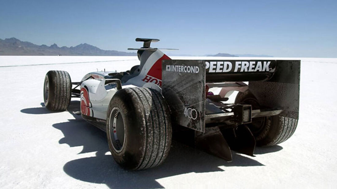 Honda - Formel 1 - Top-Speed-Rekord - Utah