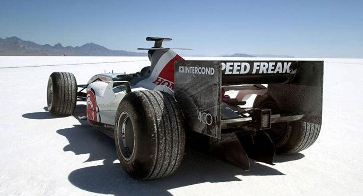 Honda - Formel 1 - Top-Speed-Rekord - Utah