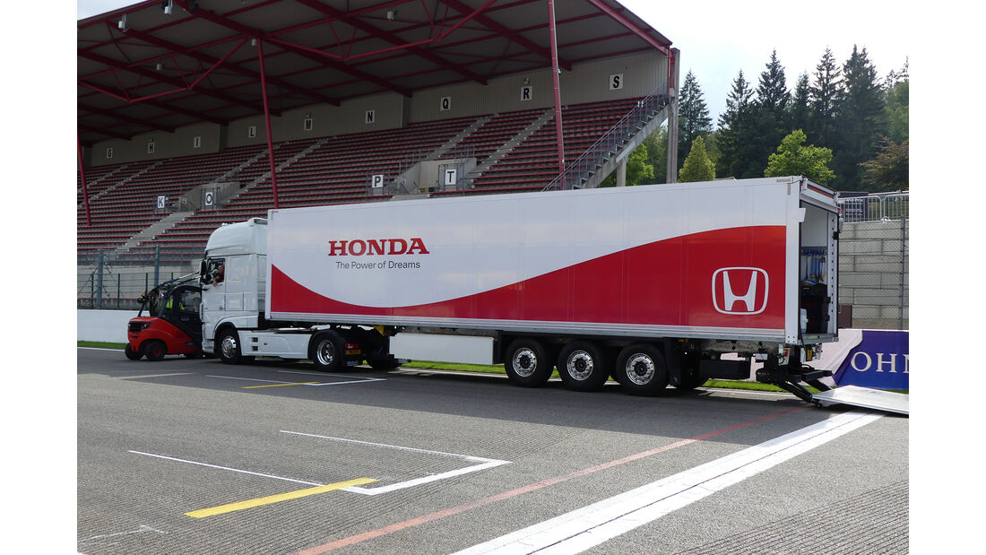 Honda - GP Belgien - Spa-Francorchamps - Formel 1 - Mittwoch - 28.8.2019