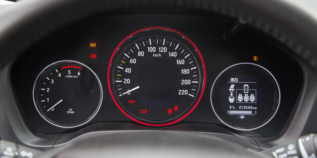 Honda HR-V 1.6 i-DTEC, Rundinstrumente