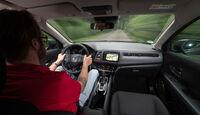 Honda HR-V 1.6i-DTEC, Cockpit, Fahrersicht