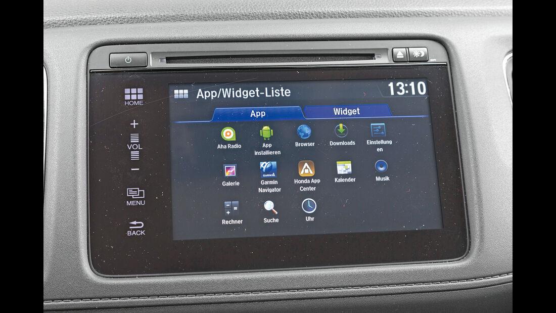 Honda HR-V 1.6i-DTEC, Display, Infotainment