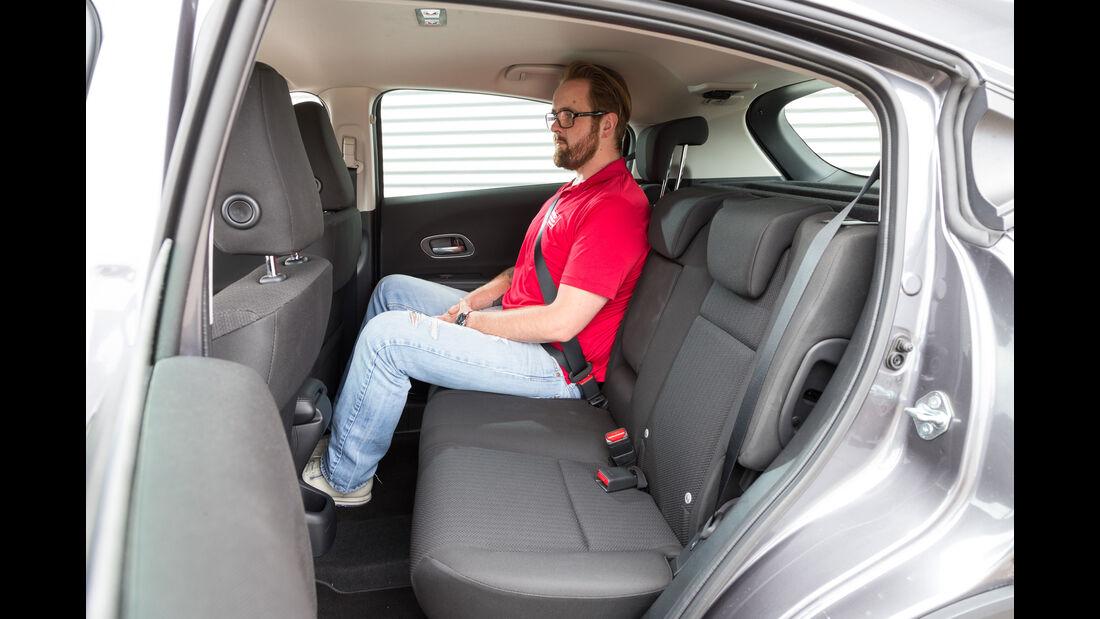 Honda HR-V 1.6i-DTEC, Fondsitz