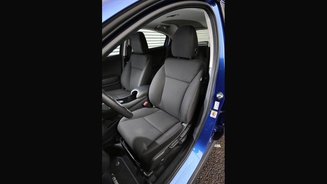 Honda HR-V, Fahrersitz