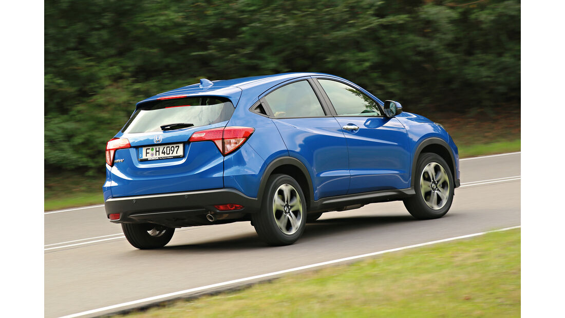 Honda HR-V, Heckansicht