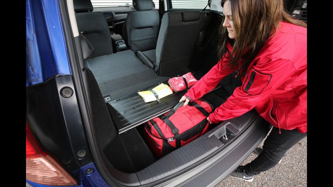 Honda HR-V, Kofferraum, Staufach