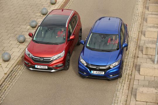Honda HR-V oder CR-V, Frontansicht