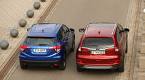 Honda HR-V oder CR-V, Heckansicht