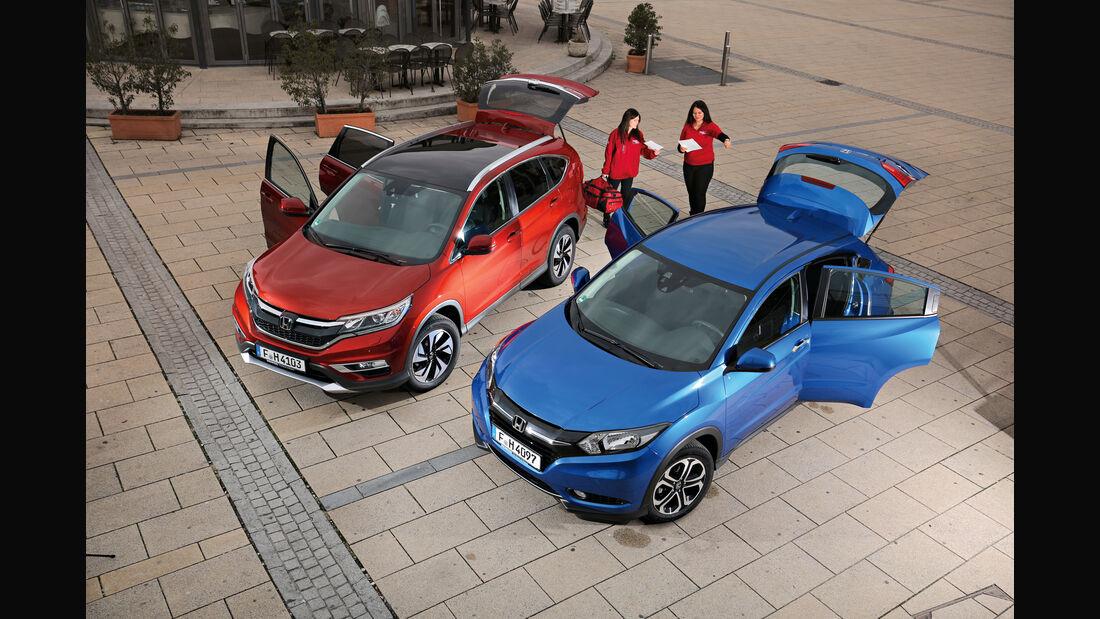 Honda HR-V oder CR-V, Türen offen