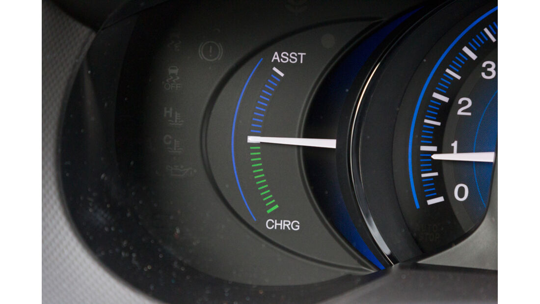 Honda Insight Exclusive, Anzeige