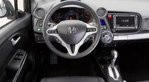 Honda Insight Exclusive, Cockpit, Lenkrad