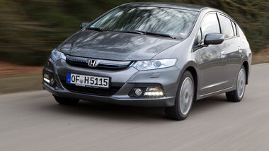 Honda Insight Exclusive, Frontansicht