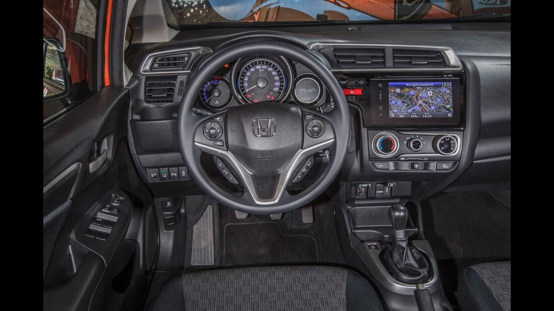Honda Jazz 1.3, Cockpit