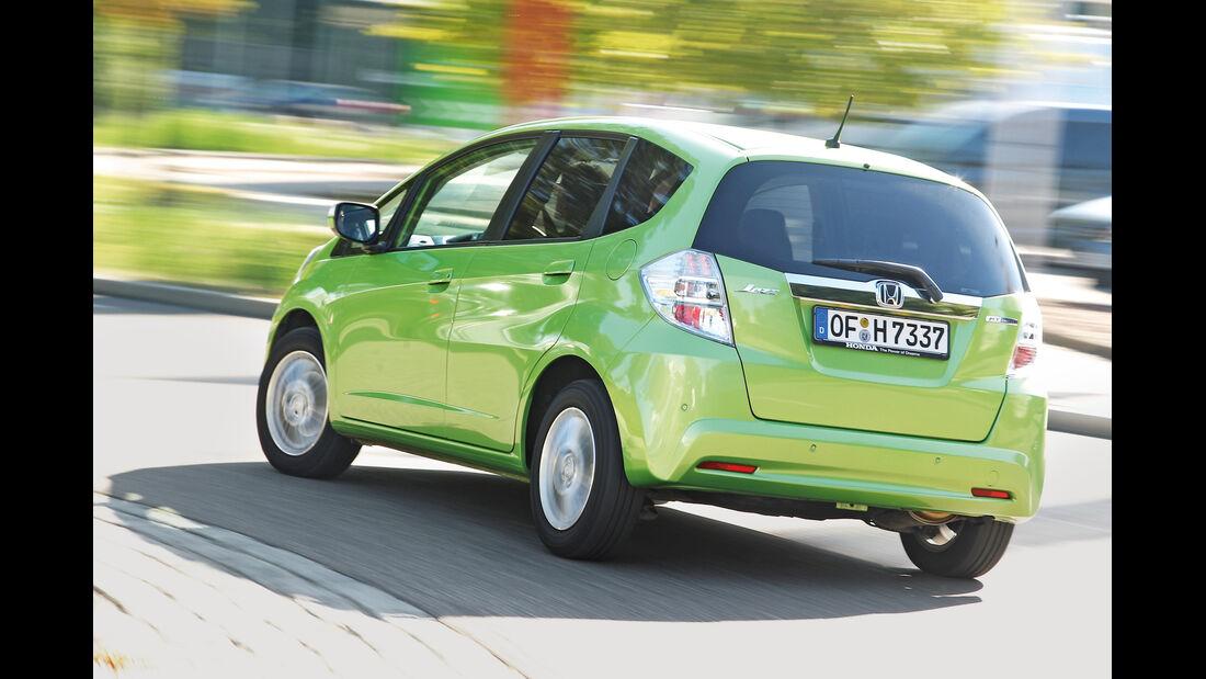 Honda Jazz 1.3 DSi i-VTEC IMA Exclusive, Heckansicht