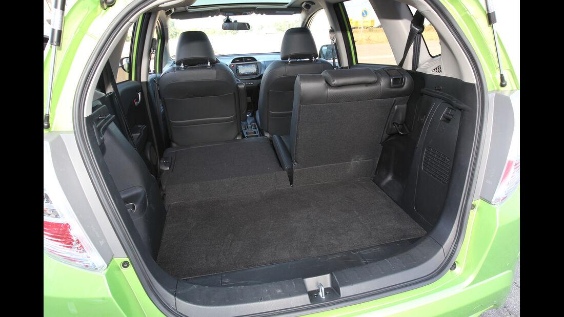Honda Jazz 1.3 DSi i-VTEC IMA Exclusive, Kofferraum