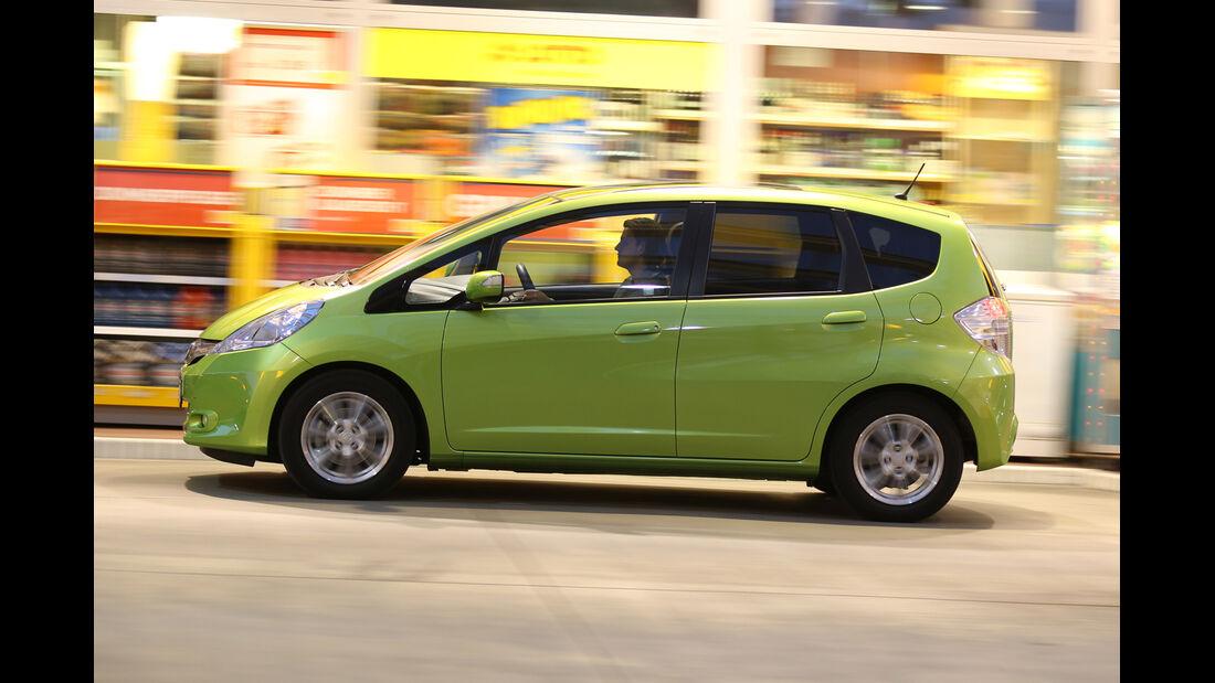 Honda Jazz 1.3 DSi i-VTEC IMA Exclusive, Seitenansicht