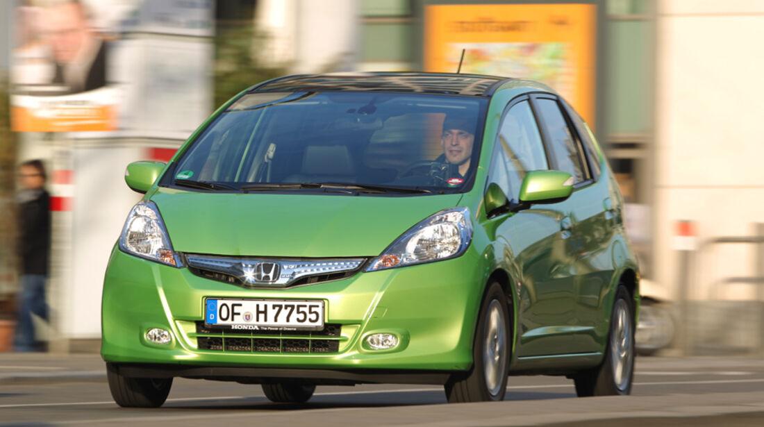 Honda Jazz 1.3 DSi i-VTEC IMA, Frontansicht