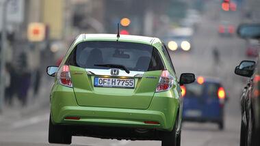Honda Jazz 1.3 DSi i-VTEC IMA, Rückansicht