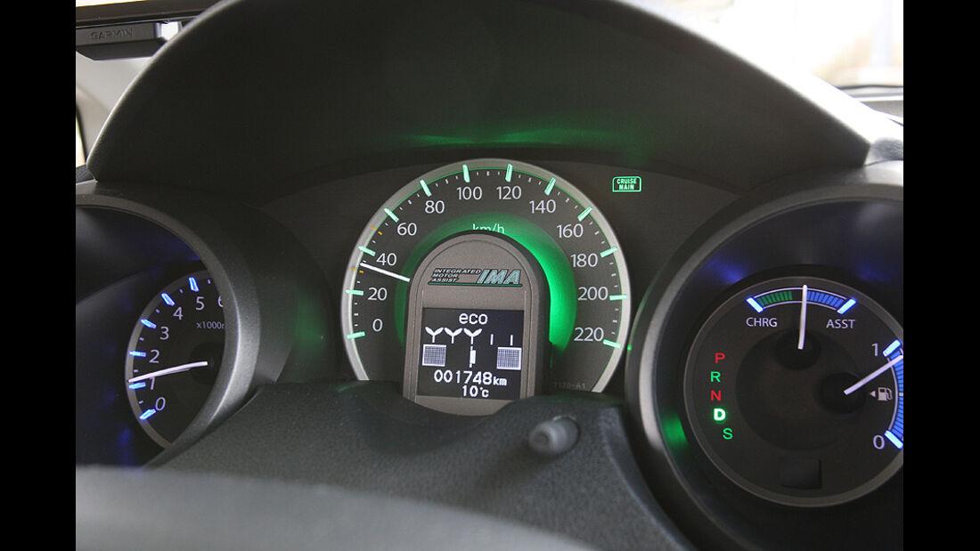 Honda Jazz 1.3 IMA, Rücksitze, Beinfreiheit