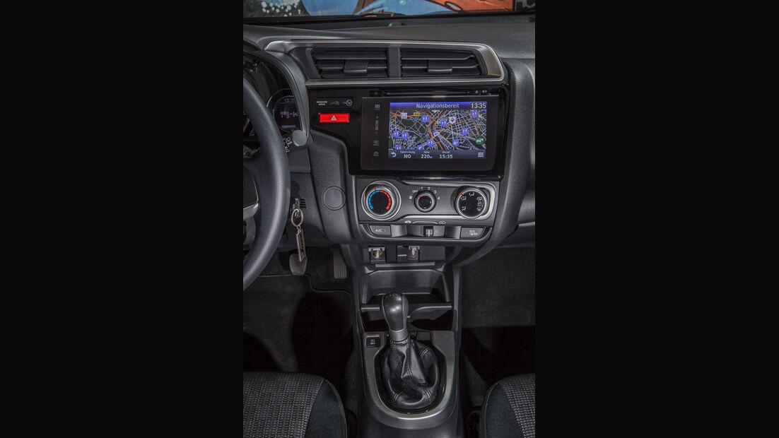Honda Jazz 1.3, Mittelkonsole