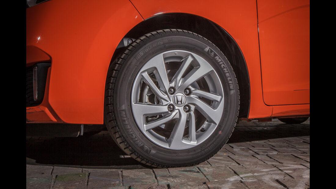 Honda Jazz 1.3, Rad, Felge