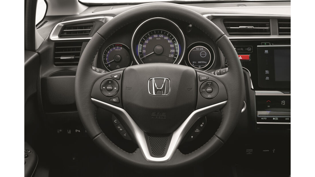 Honda Jazz 2015, Interieur
