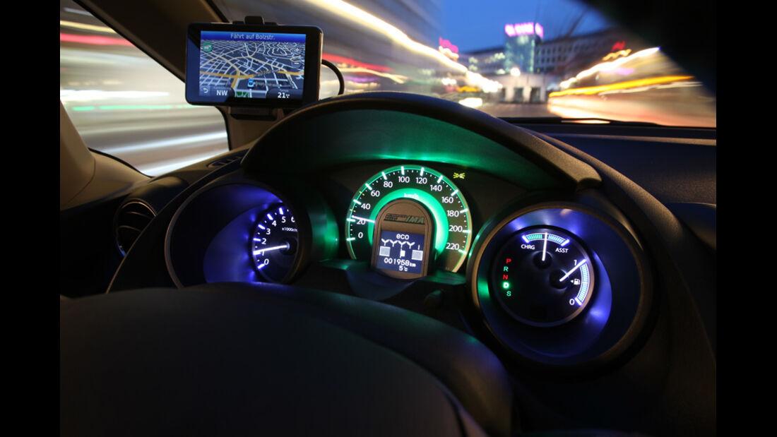 Honda Jazz, Cockpit